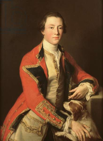 General Lord George Henry Lennox (1737-1805), 1755 (oil on canvas)