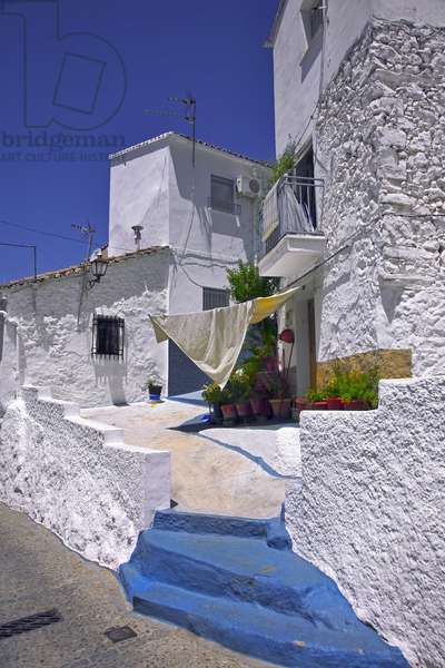 Spain - Andalusia - Ubrick - white village - alley