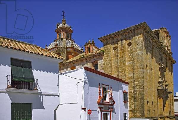 Spain - Andalusia - city of Carmona - Church of El Salvador