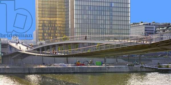 Paris - Passerelle Simone de Beauvoir (2004-2006) - Paris 12eme