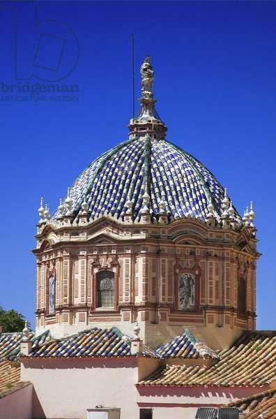 Spain: Andalusia: City of Carmona: Church of San Pedro