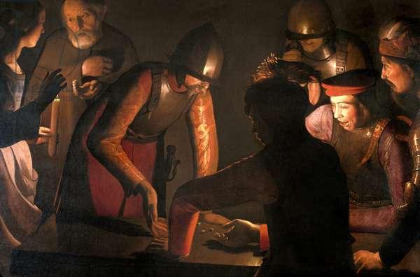 """Loire Atlantique N* 098 - Nantes/Musee des Beaux Arts - """"Le reniement de St-Pierre"""" - Georges de La Tour (1593-1652) - 1650"""
