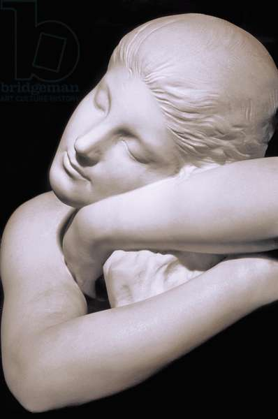 """France - department 90 - Belfort - Museum of Art and History - Detail statue of Peter Victor (1840-1918) - """""""