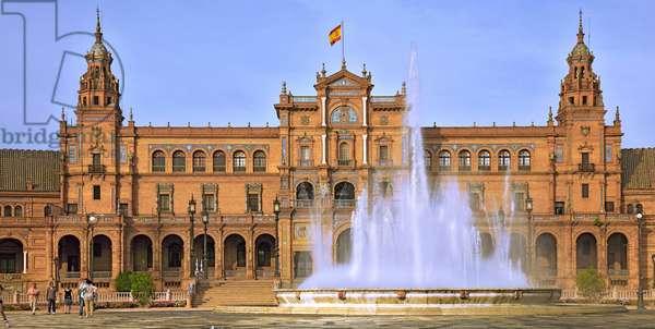 Spain - Andalusia - Seville - Plaza Espagna
