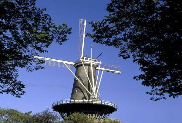 HOLLAND: LEIDEN: the mill of Valk
