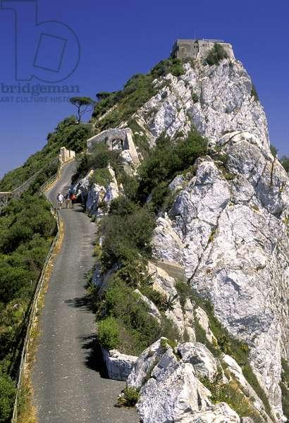 Gibraltar: The Rock of Gibraltar
