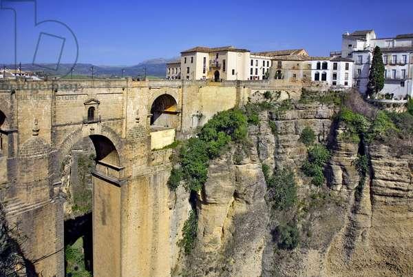 Spain - Andalusia - city of Ronda - Puente Nuevo