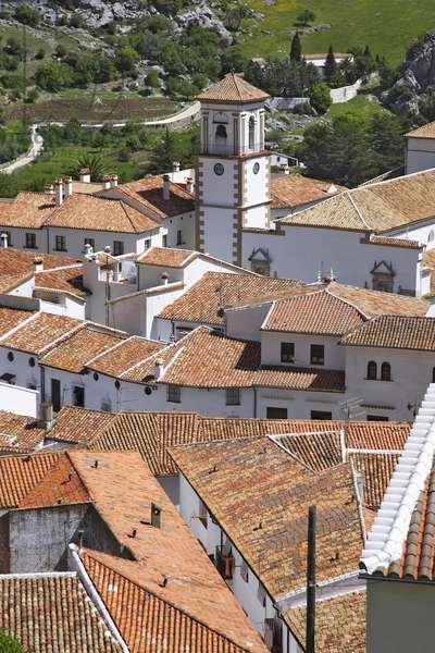 Spain - Andalusia - Grazalema, white village,