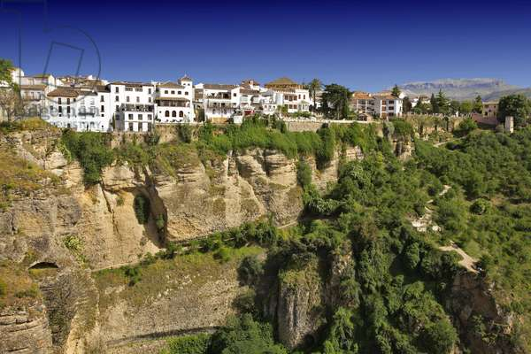 Spain - Andalusia - city of Ronda, general view