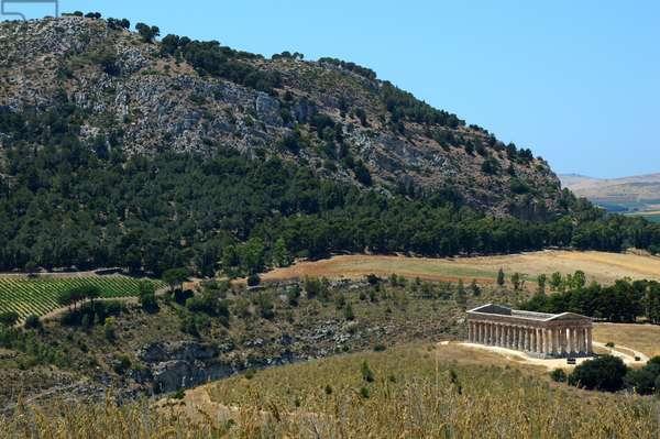 Archaeological Site of Segesta, Calatafimi, Province of Trapani, Sicily, Italy (photo)