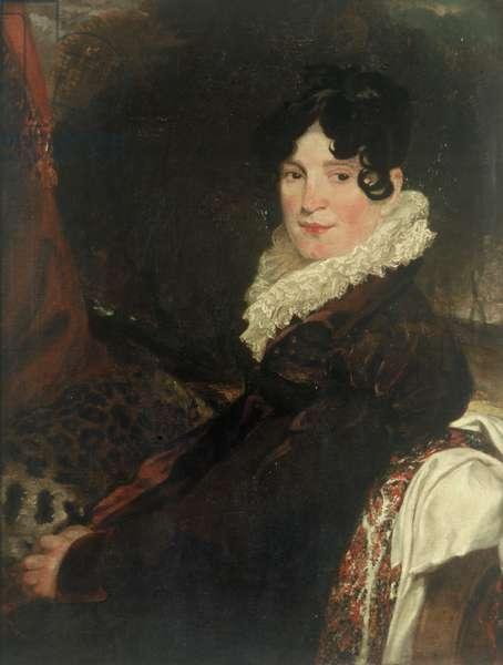 Mrs Jane Loddiges, née Creighton (oil on canvas)