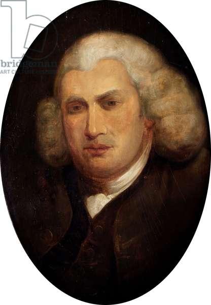 Dr Samuel Johnson (oil on panel)
