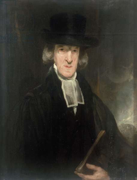 The Rev James Creighton (oil on canvas)