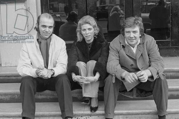 Anthony Page, Billie Whitelaw and Albert Finney