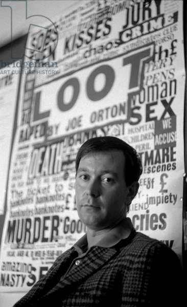 Joe Orton - portrait
