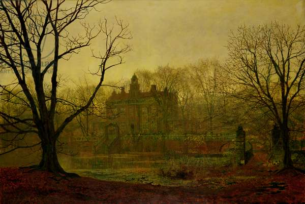 In the Gloaming, 1878 (oil on canvas)