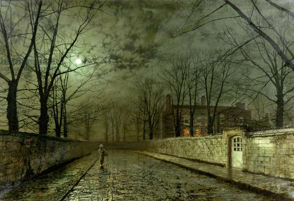 Silver Moonlight, 1880 (oil on canvas)