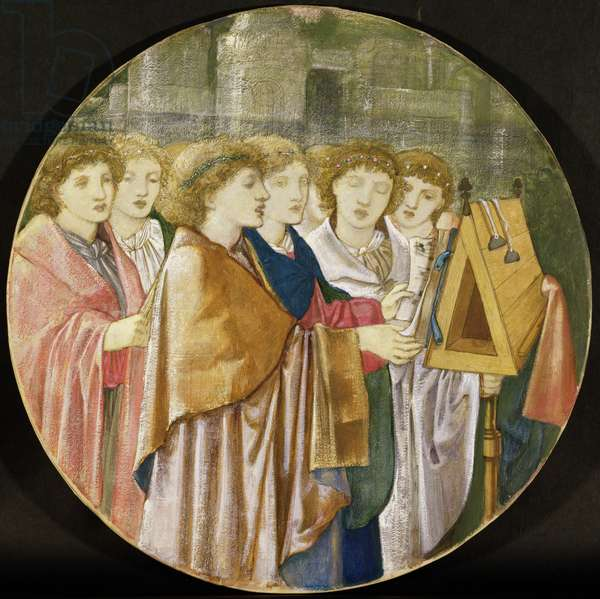 The Choristers (detail of 38257)