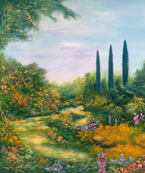 Tuscany Atmosphere, 1996 (oil on canvas)