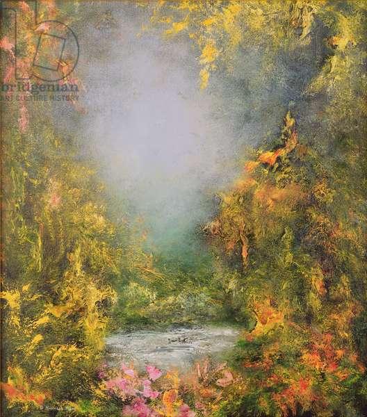 Romance, 1995 (oil on canvas)