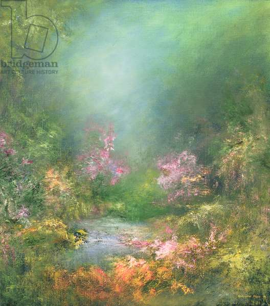 Serenity, 1994 (oil on canvas)