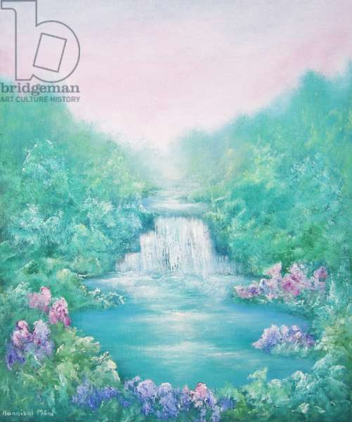 The Sound of Water, 2012, (oil on canvas)