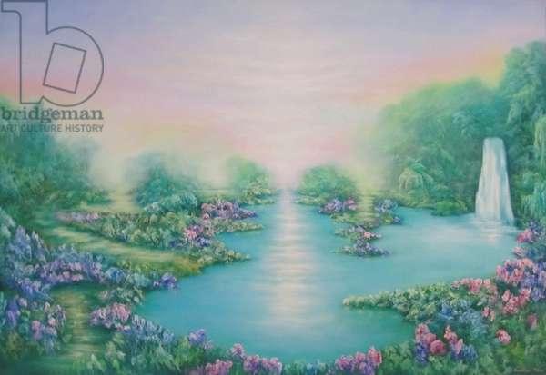 The Garden of Eden, 2011, (oil on canvas)