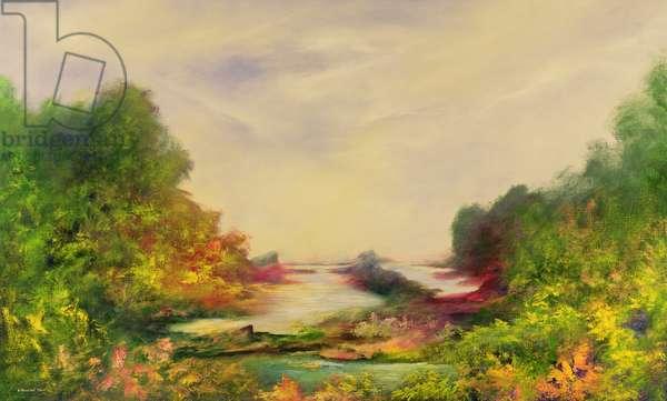 Summer Joy, 1995 (oil on canvas)