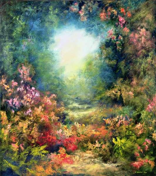 Rococo Delight, 1995 (oil on canvas)