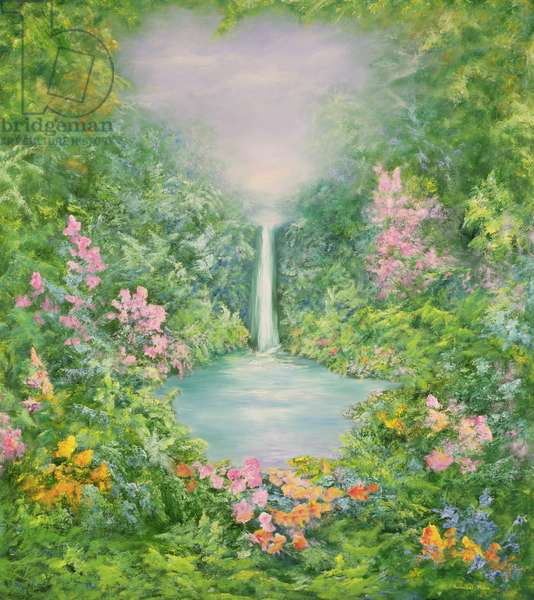 The Waterfall, 1997 (oil on canvas)