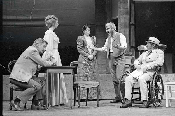 The Seagull - directed  by Max Stafford Clark, Royal Court Theatre, London April 1981