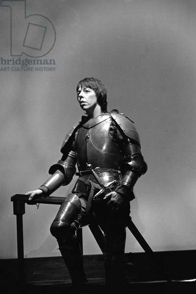 Frances de la Tour as St Joan