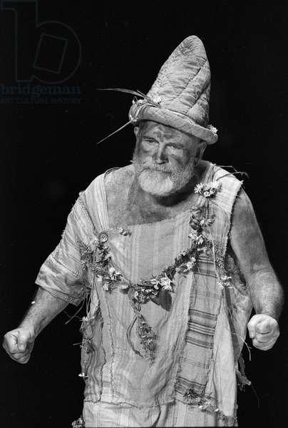Ian Holm as King Lear