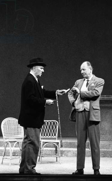 Ralph Richardson and John Gielgud