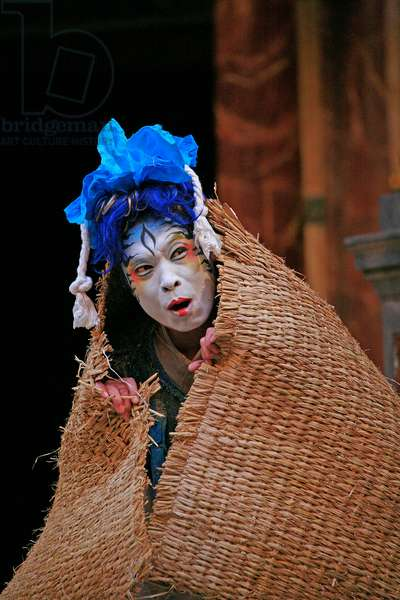 'A Midsummer Night's Dream', Yohangza Theatre Company production at The Globe Theatre, London, UK, 2012 (photo)