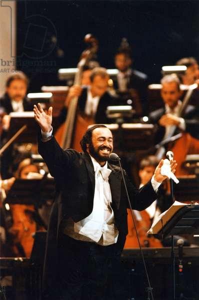 Luciano Pavarotti  in