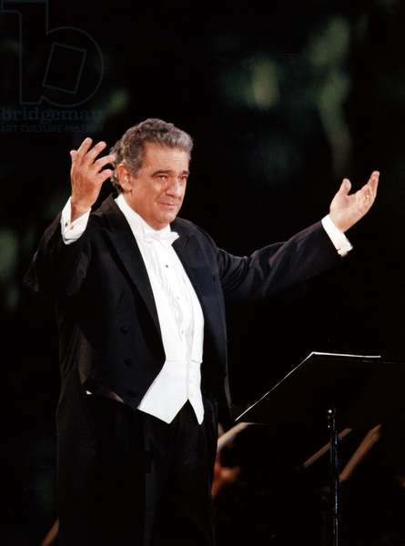 Placido Domingo in concert