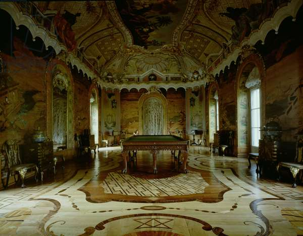 The Large Chinese Room in the Chinese Palace designed by Giuseppe and Serafino Barozzi (photo)