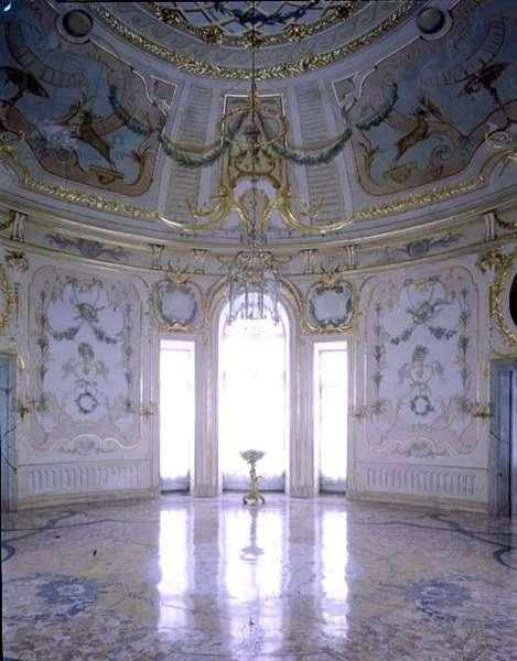 The Rotunda in the Switchback Pavilion designed by Antonio Rinaldi (1709-94) (photo)