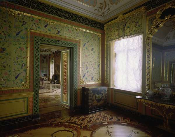 The Small Chinese Room in the Chinese Palace designed by Antonio Rinaldi (1709-94) (photo)