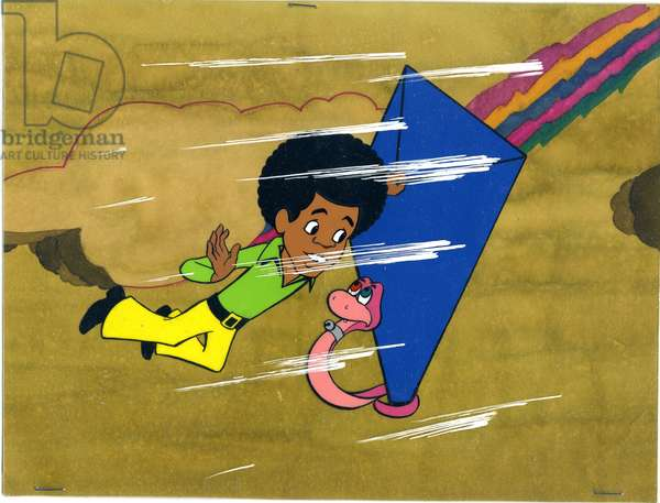 Still from The Jackson Five TV series, 1972 (animation cel)