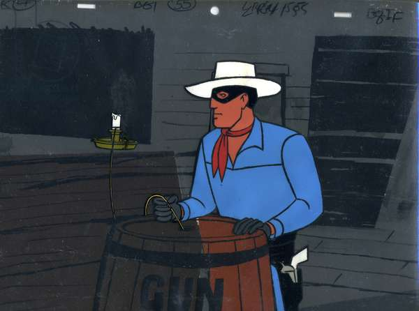 Still from The Lone Ranger TV series, 1972 (animation cel)