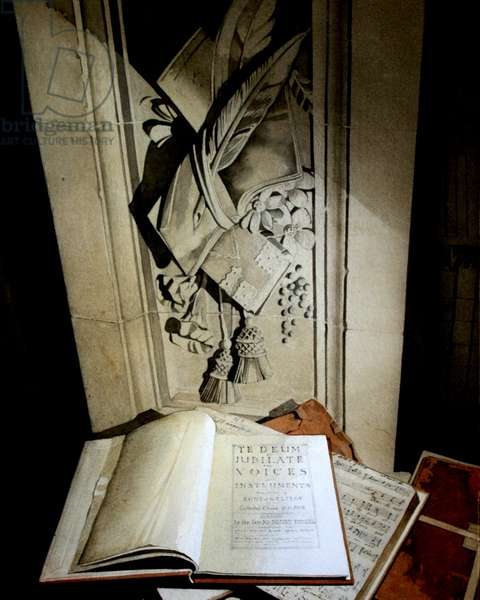 Purcell Folios, St Paul's library (w/c on paper)