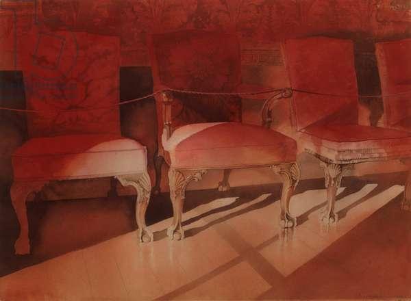 Hopetoun Chairs (w/c on paper)