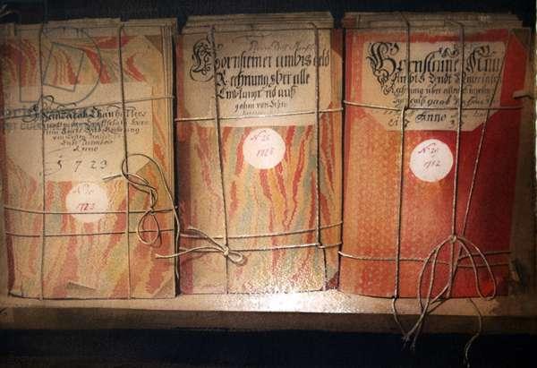 Dornsteiner Accounts  (w/c on paper)