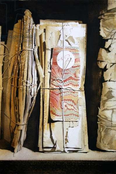 Bundle No.12, Forchtenstein (w/c on paper)