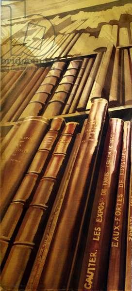 Les Eaux Fortes de Ruysdael, V&A (w/c on paper)