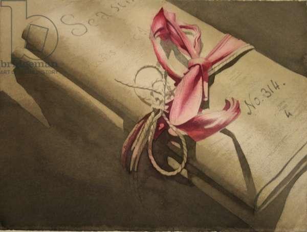 Sasine 314  (w/c on paper)
