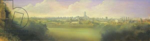 Greenwich II, 2000 (acrylic & oil on canvas)