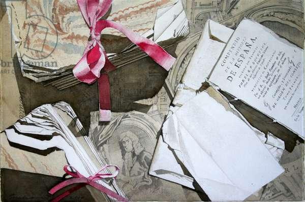 Spanish Still Life (w/c on paper)